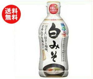 送料無料 マルコメ 液みそ 白みそ 430g×10本入 ※北海道・沖縄・離島は別途送料が必要。