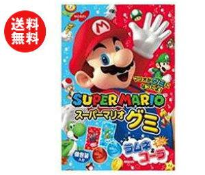 送料無料 ノーベル製菓 スーパーマリオグミ 90g×6袋入 ※北海道・沖縄・離島は別途送料が必要。