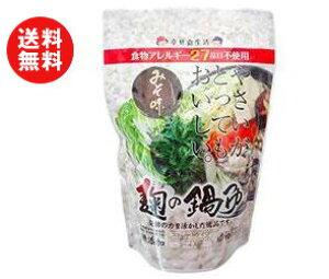 送料無料 【2ケースセット】樽の味 麹の鍋つゆ 味噌風味 680g×12袋入×(2ケース) ※北海道・沖縄・離島は別途送料が必要。