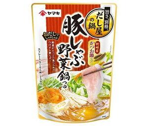送料無料 ヤマキ 豚しゃぶ 野菜鍋つゆ かつお 750g×12袋入 北海道・沖縄・離島は別途送料が必要。