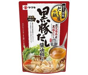 送料無料 ヤマキ 黒豚だし 醤油鍋つゆ 700g×12袋入 北海道・沖縄・離島は別途送料が必要。