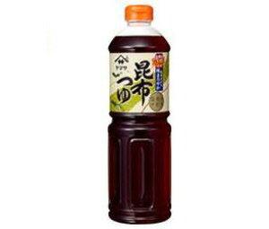 送料無料 【2ケースセット】ヤマサ醤油 昆布つゆ 1Lペットボトル×6本入×(2ケース) ※北海道・沖縄・離島は別途送料が必要。