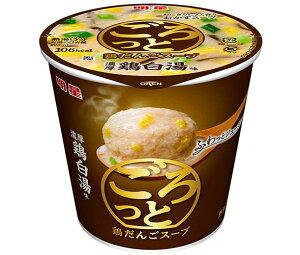 送料無料 明星食品 ごろっと鶏だんごスープ 濃厚鶏白湯味 24g×24(6×4)個入 ※北海道・沖縄・離島は別途送料が必要。