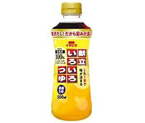送料無料 【2ケースセット】イチビキ 献立いろいろつゆ 500mlペットボトル×8本入×(2ケース) 北海道・沖縄・離島は別途送料が必要。