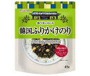 送料無料 徳山物産 食べ方いろいろ 韓国ふりかけのり 45g×20袋入 ※北海道・沖縄・離島は別途送料が必要。