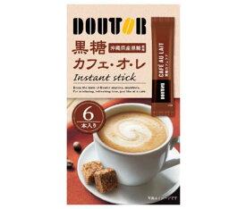 送料無料 ドトールコーヒー ドトール 黒糖カフェ・オ・レ 13g×6P×36箱入 ※北海道・沖縄・離島は別途送料が必要。