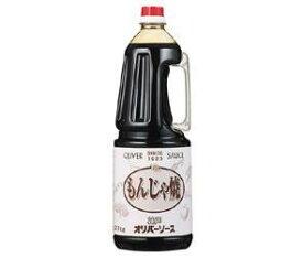 送料無料 オリバーソース もんじゃ焼ソース 2.1kg×6本入 ※北海道・沖縄・離島は別途送料が必要。
