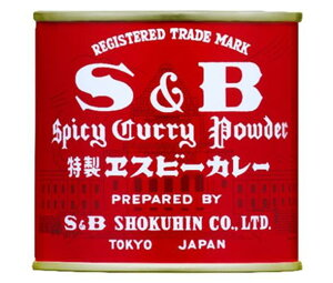 送料無料 エスビー食品 S&B 赤缶カレー粉 84g缶×10個入 ※北海道・沖縄・離島は別途送料が必要。