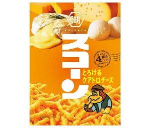 送料無料 コイケヤ スコーン とろけるクアトロチーズ 75g×12袋入 北海道・沖縄・離島は別途送料が必要。