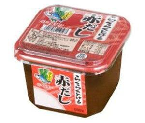 送料無料 【2ケースセット】マルサンアイ らくらくとける赤だし 650g×6個入×(2ケース) ※北海道・沖縄・離島は別途送料が必要。