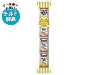 送料無料 【チルド(冷蔵)商品】QBB ビールに合うベビーチーズ 燻製ベーコン入り 60g(4個)×25個入 ※北海道・沖縄は別途送料が必要。