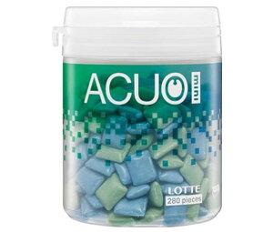 送料無料 【2ケースセット】ロッテ ACUO(アクオ) mini クリアミントミックス ファミリーボトル 140g×6個入×(2ケース) 北海道・沖縄・離島は別途送料が必要。