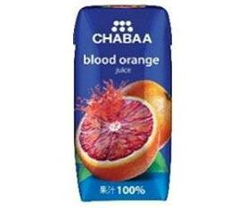 送料無料 【2ケースセット】HARUNA(ハルナ) CHABAA(チャバ) 100%ジュース ブラッドオレンジ 180ml紙パック×36本入×(2ケース) 北海道・沖縄・離島は別途送料が必要。