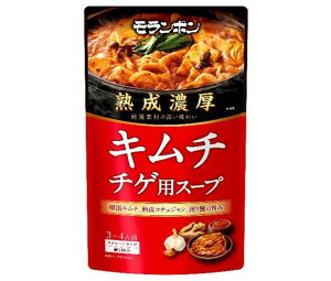 送料無料 モランボン 熟成濃厚 キムチチゲ用スープ 750g×10袋入 北海道・沖縄・離島は別途送料が必要。