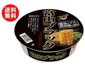送料無料 寿がきや 全国麺めぐり 富山ブラックラーメン 108g×12個入 ※北海道・沖縄・離島は別途送料が必要。