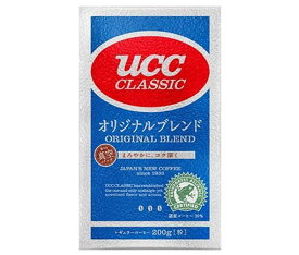 送料無料 【2ケースセット】UCC クラシック オリジナルブレンド(粉) 200g袋×24袋入×(2ケース) ※北海道・沖縄・離島は別途送料が必要。