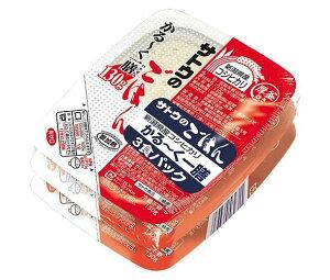 送料無料 サトウ食品 サトウのごはん 新潟県産コシヒカリ かる〜く一膳 3食パック (130g×3食)×12個入 北海道・沖縄・離島は別途送料が必要。