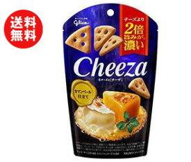 送料無料 グリコ 生チーズのチーザ カマンベール仕立て 40g×10袋入 ※北海道・沖縄・離島は別途送料が必要。