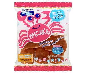 送料無料 三立製菓 ミニかにぱん 90g×12袋入 北海道・沖縄・離島は別途送料が必要。