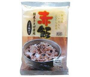 送料無料 たかの 赤飯 ごま塩(1.5g)付き 190g×10個入 北海道・沖縄・離島は別途送料が必要。