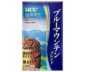 送料無料 UCC 珈琲探究 ブルーマウンテンブレンド(粉) 200g袋×24(6×4)袋入 ※北海道・沖縄・離島は別途送料が必要。