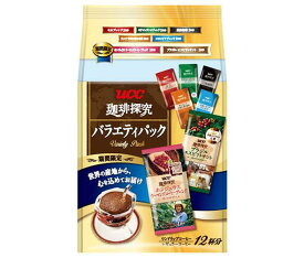 送料無料 【2ケースセット】UCC 珈琲探究 ドリップコーヒー バラエティパック 12P×12袋入×(2ケース) 北海道・沖縄・離島は別途送料が必要。