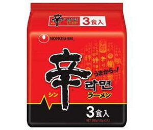 送料無料 農心ジャパン 辛ラーメン 3食パック×12袋入 ※北海道・沖縄・離島は別途送料が必要。