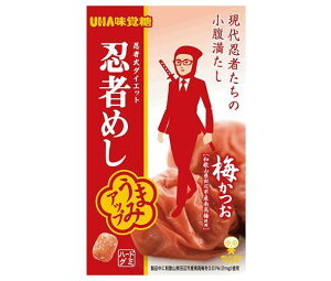 送料無料 UHA味覚糖 忍者めし (梅かつお) 20g×10袋入 北海道・沖縄・離島は別途送料が必要。