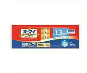 送料無料 日本製粉 オーマイ スパゲッティ1.3mm結束タイプ 500g×20袋入 北海道・沖縄・離島は別途送料が必要。