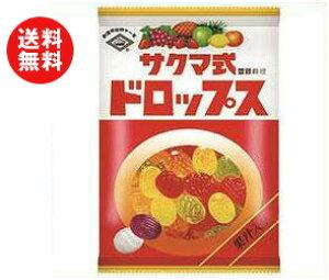 送料無料 佐久間製菓 サクマ式ドロップス(P) 120g×6袋入 ※北海道・沖縄・離島は別途送料が必要。
