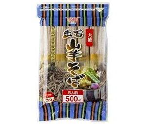 送料無料 田靡製麺 大盛出石山芋そば 500g×12袋入 北海道・沖縄・離島は別途送料が必要。