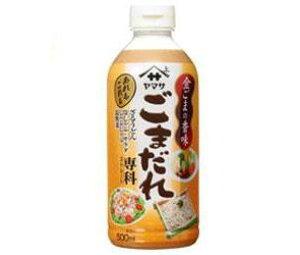 送料無料 ヤマサ醤油 ごまだれ専科 500mlペットボトル×12本入 ※北海道・沖縄・離島は別途送料が必要。