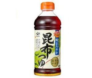 送料無料 【2ケースセット】ヤマサ醤油 昆布つゆ 500mlペットボトル×12本入×(2ケース) ※北海道・沖縄・離島は別途送料が必要。