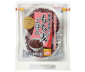 送料無料 越後製菓 黒米・玄米入り もち麦ごはん 240g(120g×2食)×6個入 北海道・沖縄・離島は別途送料が必要。