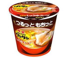 送料無料 【2ケースセット】明星食品 ノンフライワンタン しょうゆスープ 14g×6個入×(2ケース) ※北海道・沖縄・離島は別途送料が必要。