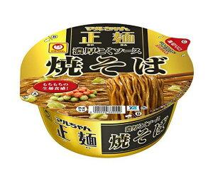 送料無料 東洋水産 マルちゃん正麺 カップ 濃厚こくソース焼そば 132g×12個入 北海道・沖縄・離島は別途送料が必要。