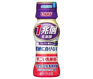 送料無料 いなば食品 すごい乳酸菌 1兆個 ブルーベリー果汁 65mlペットボトル×50本入 北海道・沖縄・離島は別途送料が必要。