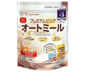 送料無料 【2ケースセット】日本食品製造 日食 プレミアム ピュアオートミール 340g×4袋入×(2ケース) 北海道・沖縄・離島は別途送料が必要。