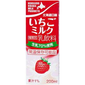 北海道日高いちごミルク200ml×24本