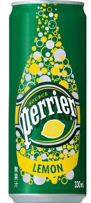 サントリー ペリエ(perrier) レモン 330ml缶 1ケース24本×2ケース 02P03Dec16
