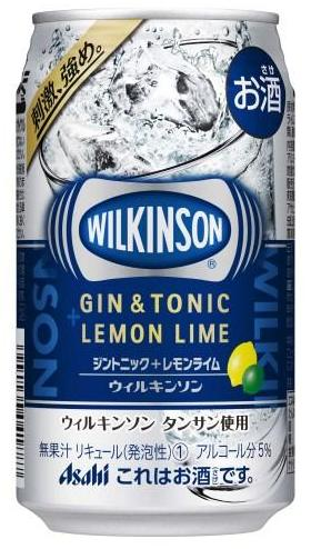 【あす楽!!】アサヒ ウィルキンソン(WILKINSON)ジントニック+レモンライム 350ml 1ケース 24本
