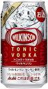 【あす楽!!】アサヒ ウィルキンソン(WILKINSON)トニック+ウォッカ 350ml 1ケース 24本 02P03Dec16