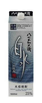 キリンビール株式会社 八代不知火蔵 こめ焼酎 白水 25度 1.8L 1ケース6本