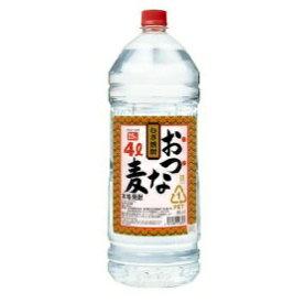 合同酒精 おつな麦 麦 25度 4L 1ケース(4本入)