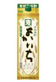 【送料無料・あす楽】 宝酒造 よかいち 麦焼酎 25度 1.8L 紙パック 1ケース(6本入)