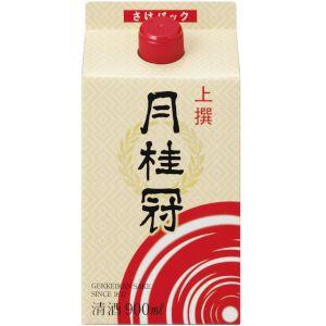 月桂冠株式会社 月桂冠上撰サケパック 日本酒 900ml 1ケース(6本入) 02P03Dec16