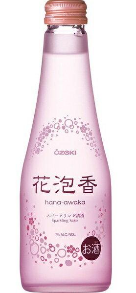 【日本酒スパークリング】大関酒造 花泡香(はなあわか) 250ml 1ケース 12本