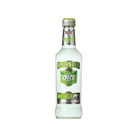 【送料無料】キリンビール スミノフアイス グリーンアップルバイト 275ml瓶 1ケース24本