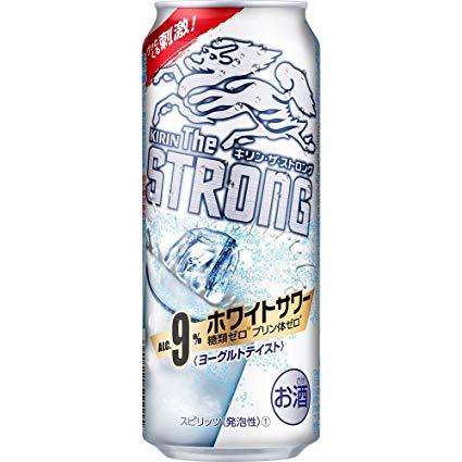 【あす楽!】キリンビール株式会社 キリン・ザ・ストロング ホワイトサワー 500ml 1ケース24本