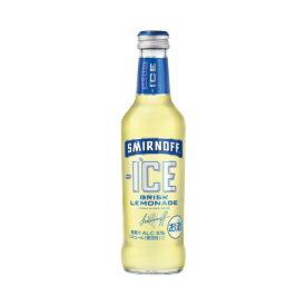 【送料無料】キリンビール スミノフアイス ブリスクレモネード 275ml瓶 1ケース24本